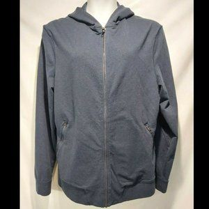 Lululemon Zip Up Hoodie Sweatsshirt Mens XL Blue